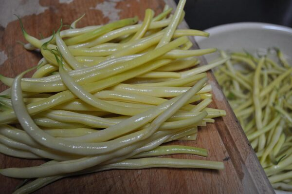 Cut Pole Beans